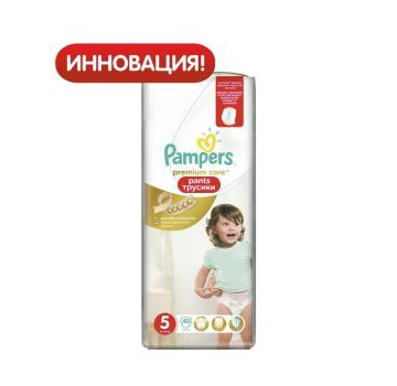 Трусики Pampers Premium care 5(12-18 кг ) 40 шт