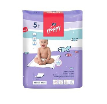 Пеленки Bella baby Happy 60x60см 5шт